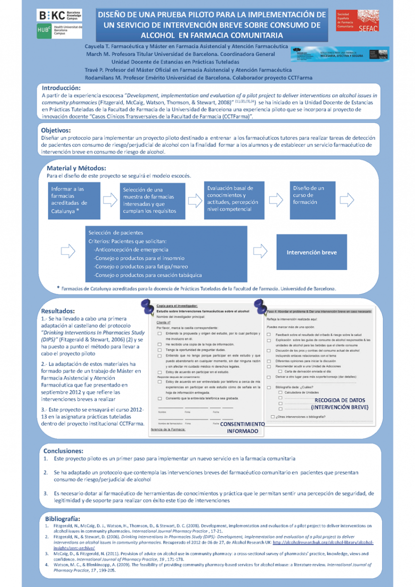 Diseño de una prueba piloto para la implementación de un servicio de ...